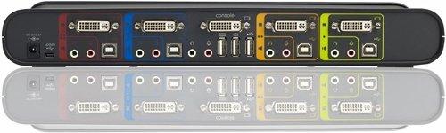 Przełącznik BELKIN SOHO 4-Port KVM USB VGA