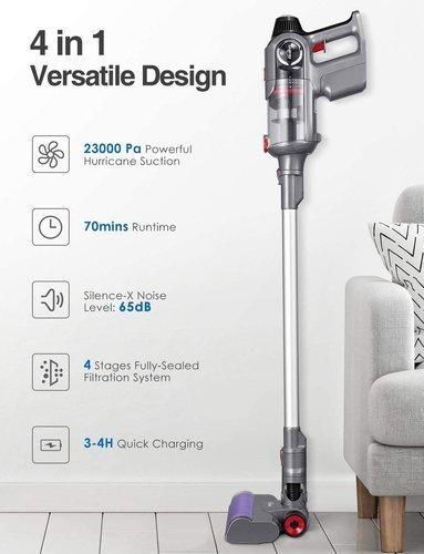 Odkurzacz bezprzewodowy KEALIVE BVC-V10