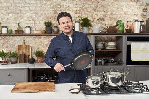 Patelnia TEFAL Jamie Oliver E30406