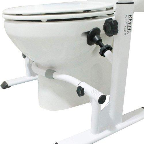 Rama toaletowa / poręcze sedesowe KMINA Famika B081517Q3S