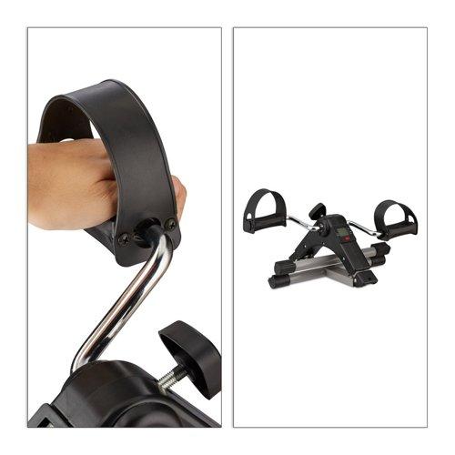 Składany ergometr ręczny RELAXDAYS